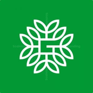 Letter G Nature Logo
