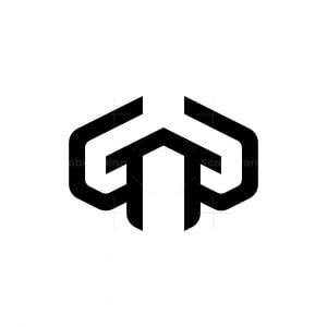 Letter G Or Gg Construction Logo
