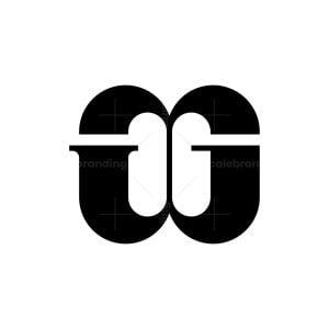 Letter Gg Monogram Logo