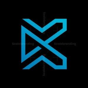 Letter K Play Logo