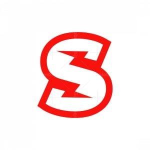 Letter S Lightning Logo