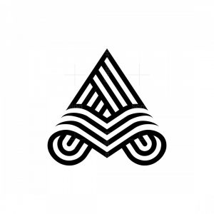 Line A Letter Logos