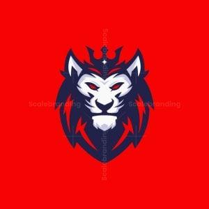 Lion King Mascot Logo