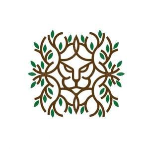 Lion Plant Logo