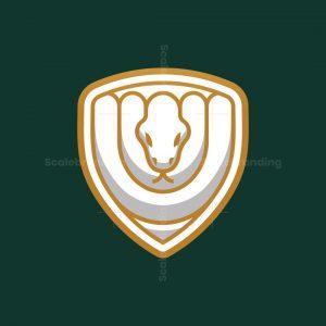 Luxury Snake Shield Logo