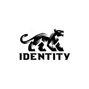 Minimal Panther Logo