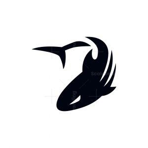 Minimal Shark Logo