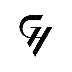 Modern Gh Or Hg Logo