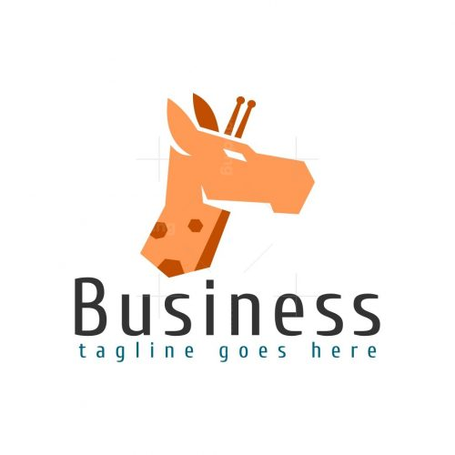 Modern Giraffe Logo