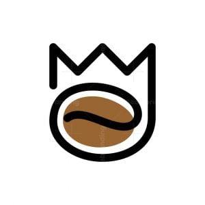 Monoline King Coffee Logo