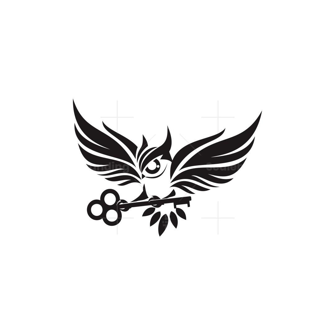 Owl Key Logo