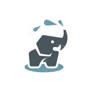 Playful Elephant Logo