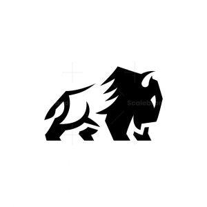 Powerful Bison Logo