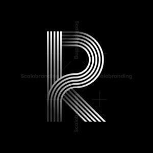 R Stylish Logo