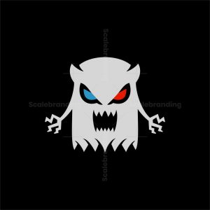 Scary Ghost Logo