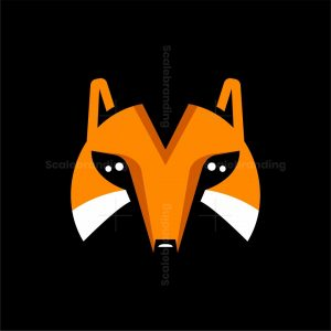 Simple Fox Head Logo