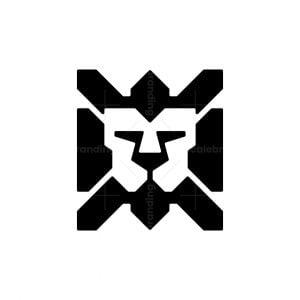 Square Lion Logo