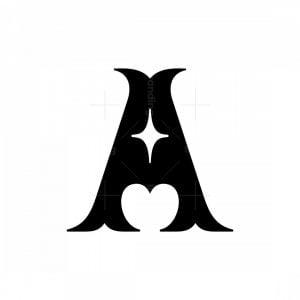 Star A Letter Logos
