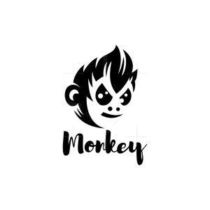 Stylish Monkey Logo