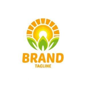 Sunrise Leaf Logo