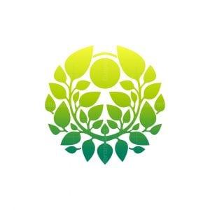Sun Leaves Logo