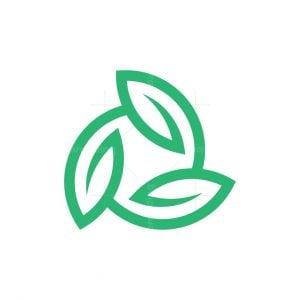 Triangle Leaf Logo