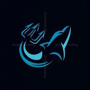 Trident Dolphin Logo