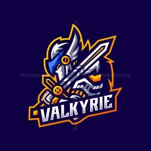 Valkyrie Mascot Logo