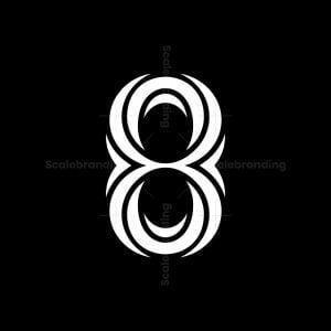 Vortex 8 Letter Logos