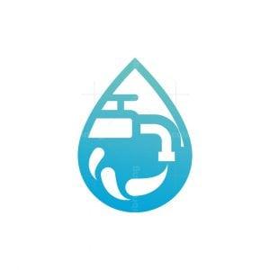 Water Tap Logo