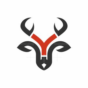 Letter Y Deer Logo