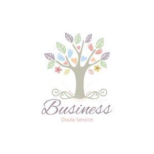 Baby Tree Doula Service Logo