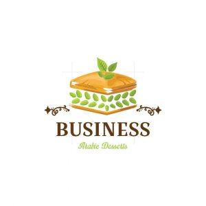 Baklawa Arabic Desserts Logo