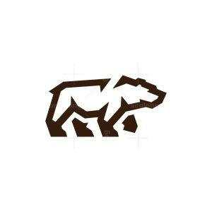 Grizzly Bear Logo Capital Bear Logo