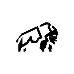 Buffalo Logo Capital Bison Logo