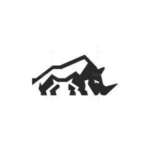 Capital Rhino Logo Rhinoceros Logo
