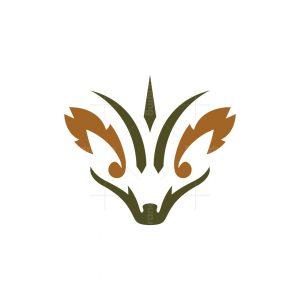 Hedgehog Head Logo Hedgehog Logo