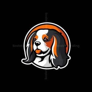 Cavalier King Charles Spaniel Dog Logo
