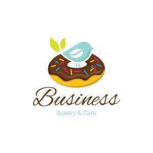 Donut Nest Bakery And Cafe Logo