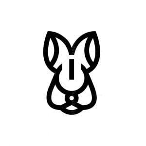 Energy Rabbit Logo Rabbit Head Logo
