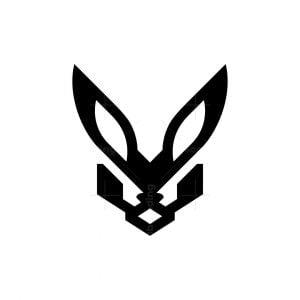 Fox Head Logo Fennec Fox Logo