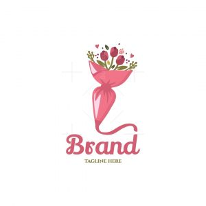 Frosting Flower Bouquet Logo