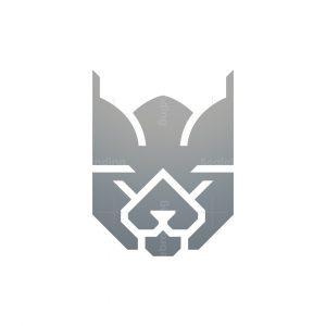 Royal Bobcat Logo King Lynx Logo