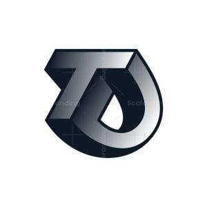Letter Td Or Ct Logo