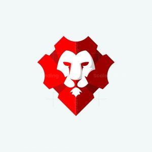Lion Cyborg Logo