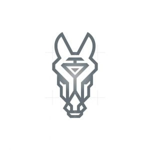 Luxury Horse Head Logo Horse Logo