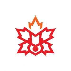 Canada Raccoon Logo Canadian Raccoon Logo