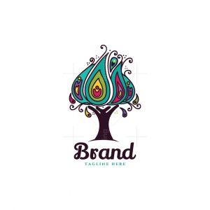 Peacock Tree Logo
