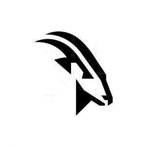 Proud Wild Goat Logo Ram Logo Goat Head Logo