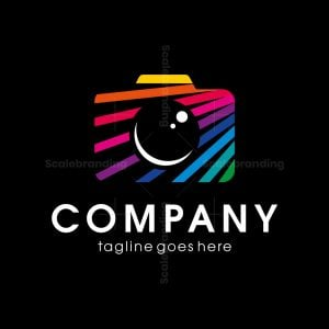 Rainbow Camera Logo